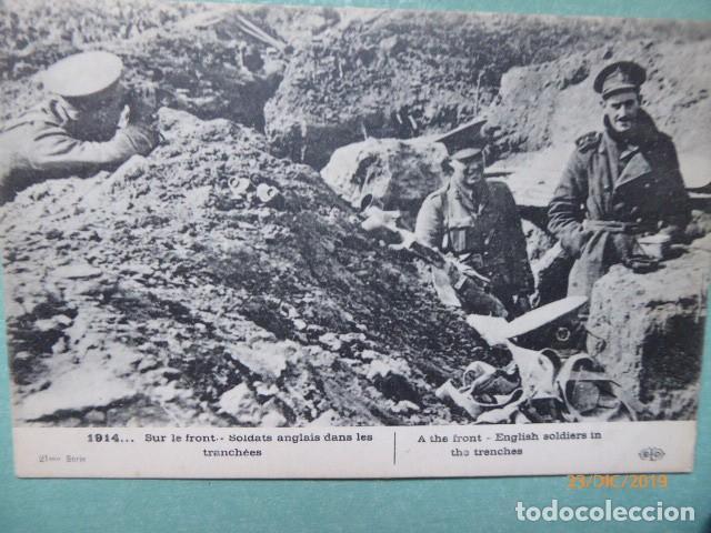 POSTAL 1º GUERRA MUNDIAL TRINCHERA (Postales - Postales Temáticas - I Guerra Mundial)