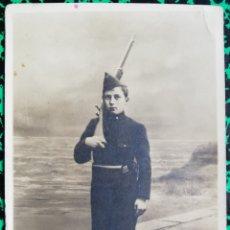 Postales: MILITAR - ADOLESCENTE - FOTO DE ESTUDIO - SIN CIRCULAR - HAINAUT - PJRB. Lote 196324671