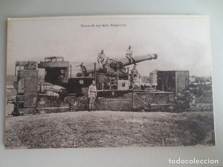 FRANCIA. CAÑON 240 (Postales - Postales Temáticas - I Guerra Mundial)