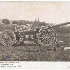 Postales: POSTAL PRÉCIEUX AUXILIAIRE LE CANON DE 120 GUERRA EUROPEA DE 1914. Lote 200808116