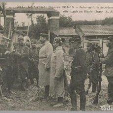 Postales: POSTAL LA GRANDE GUERRE 1914 - 15 . Lote 201325461