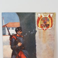 Postales: SPANISH INFRANTRY REGIMENT ZAMORA/ I GUERRA MUNDIAL/ SOLDIERS OF THE WORLD/ ORIGINAL. Lote 203887233