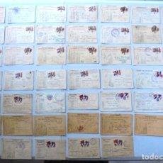 Postales: 47 CARTE POSTALE MILITAIRE 1914-1917 POUR MR FELIX AMIOT SERGENT CAPORAL MITRAILLEUR 169 INFANTERIE. Lote 204202347