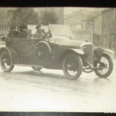 Postales: POSTAL FOTOGRÁFICA DE AUTOMÓVIL FRANCÉS EN LA PRIMERA GUERRA MUNDIAL. 1918.. Lote 205595420
