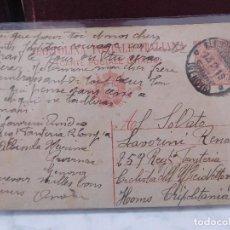 Postales: POSTAL ITALIANA CORRESPONDENCIA MILITAR 1ª GUERRA MUNDIAL ITALIA WW1 CARTOLINA POSTALE. Lote 207189210