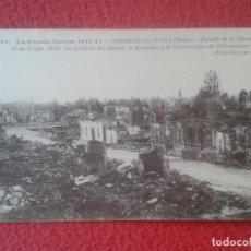Postales: POST CARD GRANDE GUERRE GRAN GUERRA 1914-15 BATALLA BATAILLE DE LA MARNE FRANCIA FRANCE RUINAS RUINE. Lote 210074876