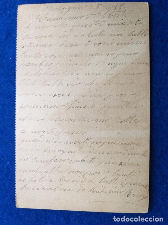 Postales: Correspondencia de prisioneros de guerra de la Primera Guerra Mundial. Cruz roja italiana - Foto 2 - 212099656