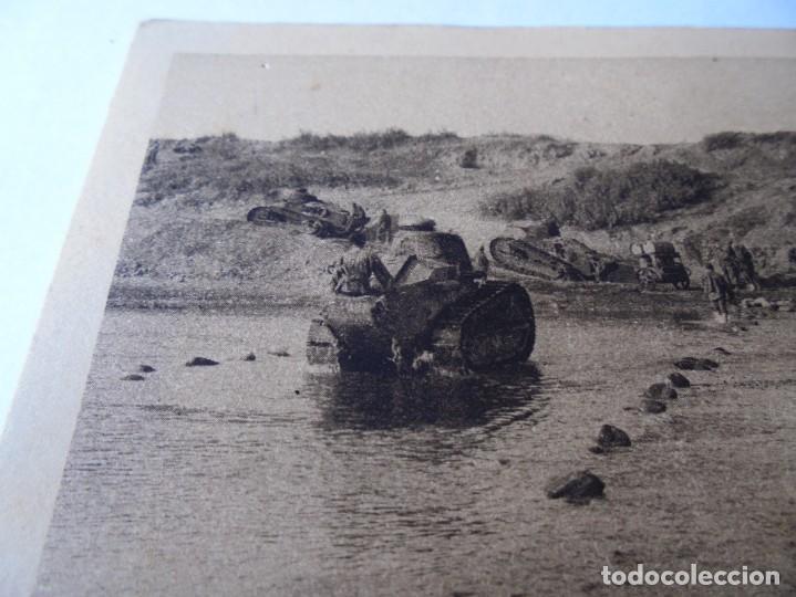 Postales: postal la guerra au maroc,tanks traversant - Foto 2 - 214087125