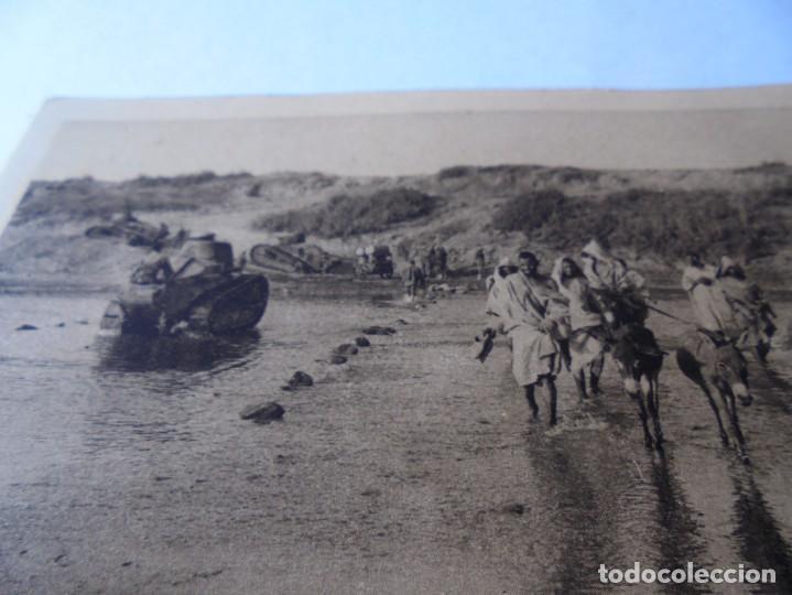 Postales: postal la guerra au maroc,tanks traversant - Foto 3 - 214087125