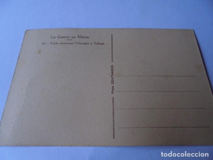 Postales: postal la guerra au maroc,tanks traversant - Foto 4 - 214087125
