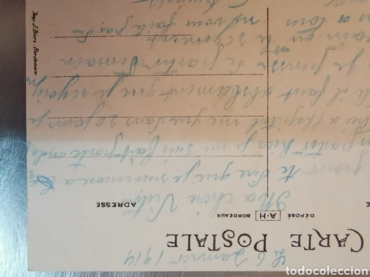 Postales: Carte Postale Bonjour du 56eme dinfanterie. De 1919. France Francia 1ªGuerra Mundial. Escrita - Foto 7 - 218549227