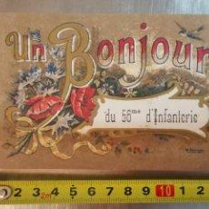 Postales: CARTE POSTALE BONJOUR DU 56EME D'INFANTERIE. DE 1919. FRANCE FRANCIA 1ªGUERRA MUNDIAL. ESCRITA. Lote 218549227