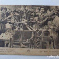 Postales: LYON. FRANCIA. L`ECLAIRAGE ELECTRIQUE. USINE DE MATERIEL DE GUERRE. 1916 APROX.. Lote 218956506
