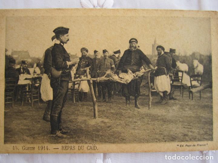 71-TARJETA POSTAL SIN CIRCULAR, LA COMIDA DEL CAID - 1ª GUERRA MUNDIAL (1914-1918) (Postales - Postales Temáticas - I Guerra Mundial)