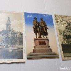 Postales: POSTALES CIRCULADAS ALEMANAS DEUTCHES REICH LOTE 3. Lote 220838773