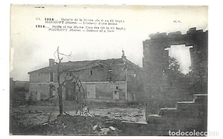 LOTE DE 14 -POSTALES ANTIGUAS - DE LA GUERRA MUNDIAL DE 1.914 DE LA BATALLA DE LA MARNE -NUEVAS (Postales - Postales Temáticas - I Guerra Mundial)