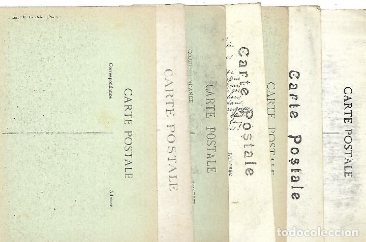 Postales: LOTE DE 14 -POSTALES ANTIGUAS - DE LA GUERRA MUNDIAL DE 1.914 DE LA BATALLA DE LA MARNE -NUEVAS - Foto 16 - 222272316