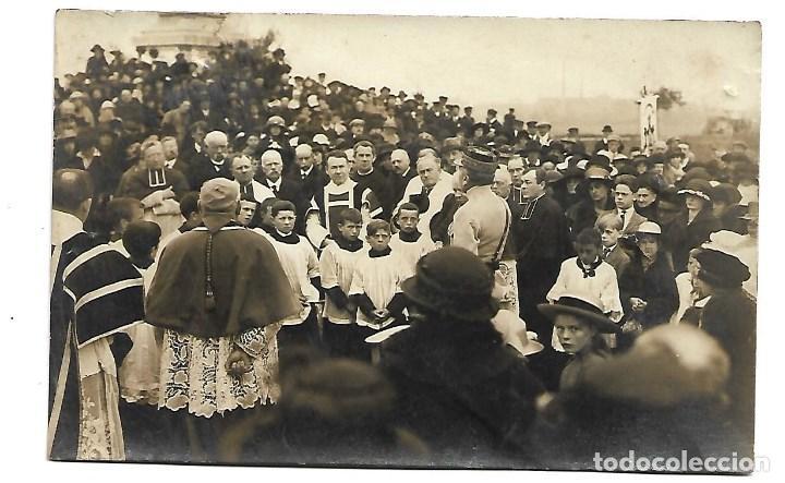 LA GUERRA MUNDIAL DE 1.914 DE LA BATALLA DE LA MARNE MISA CON REPRESENTACION MILITAR- NUEVA (Postales - Postales Temáticas - I Guerra Mundial)