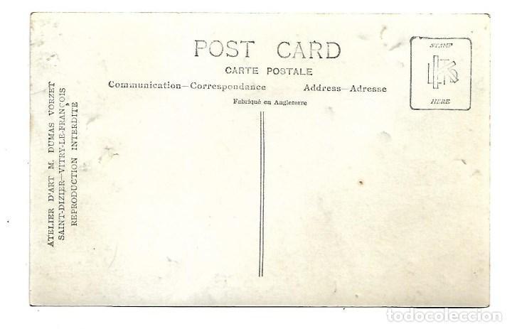 Postales: LA GUERRA MUNDIAL DE 1.914 DE LA BATALLA DE LA MARNE MISA CON REPRESENTACION MILITAR- NUEVA - Foto 2 - 222276813