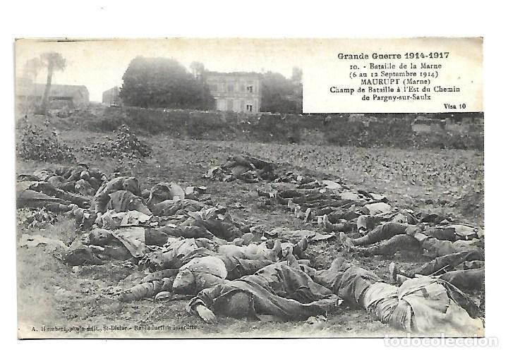 LA GUERRA MUNDIAL DE 1.914 DE LA BATALLA DE LA MARNE CAMPO DE BATALLAS CAIDOS DEL 6 - 12 -9 1.914 (Postales - Postales Temáticas - I Guerra Mundial)