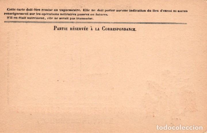 Postales: CORRESPONDANCE DES ARMEES DE LA REPUBLIQUE - CARTE ENFRANCHISE - GUERRA 1914-18 - Foto 2 - 222339411