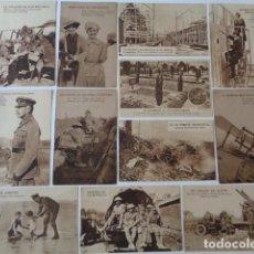 Postales: LOTE 12 POSTALES PROPAGANDA PRO BRITÁNICA, I GUERRA MUNDIAL. EN ESPAÑOL. Lote 222354990