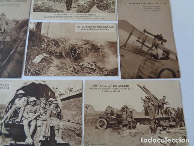 Postales: LOTE 12 POSTALES PROPAGANDA PRO BRITÁNICA, I GUERRA MUNDIAL. EN ESPAÑOL - Foto 4 - 222354990