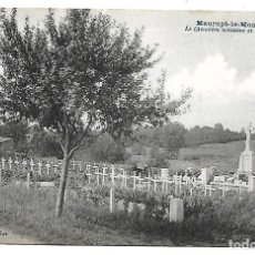Postales: LA GUERRA MUNDIAL DE 1.914- DE MAURUPT LE MONTOIS CEMENTERIO MILITAR DE L'OSSUAIRE. Lote 222367583