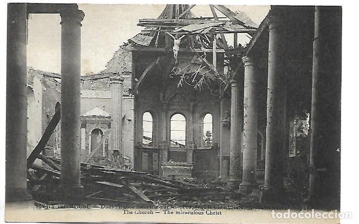 LA GUERRA MUNDIAL DE 1.914- -ESTADO DEL MUSEO Y LA IOGLESIA (Postales - Postales Temáticas - I Guerra Mundial)