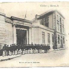 Postales: ANTIGUA POSTAL DE ESCUELA DE ARTES MILITARES -CIRCULADA EL 19 - 10 - 1.902. Lote 222551113