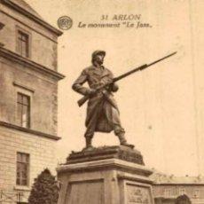 Postais: ARLON- LE MONUMENT LE JASS- EERST WERELDOORLOG BELGIË BELGIQUE 191418 WWI WWICOLLECTION. Lote 232547430
