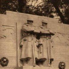 Postais: BRUXELLES- MONUMENT DE LA RECONNAISSANCE - EERST WERELDOORLOG BELGIË BELGIQUE 191418 WWI WWICOLLECT. Lote 232547685