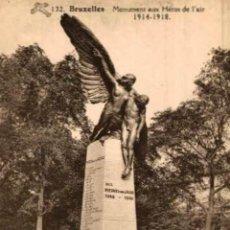 Postais: BRUXELLES- MONUMENT AUX HÉROS DE LAIR- EERST WERELDOORLOG BELGIË BELGIQUE 191418 WWI WWICOLLECTION. Lote 232547725