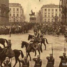 Postais: BRUXELLES- LAVÈNEMENT DU ROI LEOPOLD III - EERST WERELDOORLOG BELGIË BELGIQUE 191418 WWI WWICOLLEC. Lote 232547905