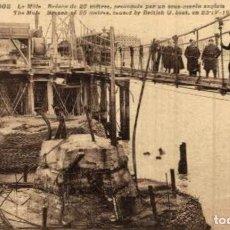 Postais: ZEEBRUGE- LE MÔLE BRÊCHE DE 25 MÈTRESS - EERST WERELDOORLOG BELGIË BELGIQUE 191418 WWI WWICOLLECTIO. Lote 232548505