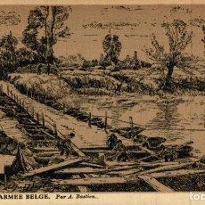 Postais: POINTONNIERS- ARMEE BELGE. PAR A.BASTIEN EERST WERELDOORLOG BELGIË BELGIQUE 191418 WWI WWICOLLECTIO. Lote 232549085