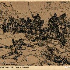 Postais: ARTILLERIE- ARMEE BELGE. PAR A.BASTIEN EERST WERELDOORLOG BELGIË BELGIQUE 191418 WWI WWICOLLECTION. Lote 232549137
