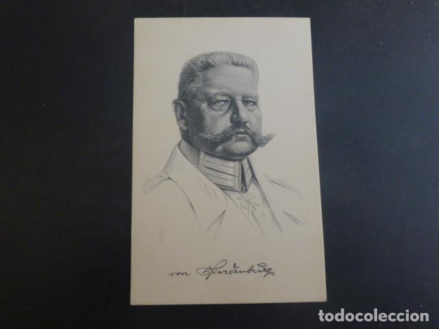 HINDENBURG PERSONAJE PRIMERA GUERRA MUNDIAL POSTAL (Postales - Postales Temáticas - I Guerra Mundial)