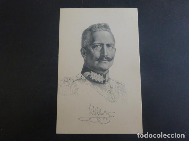 GUILLERMO II PERSONAJE PRIMERA GUERRA MUNDIAL POSTAL (Postales - Postales Temáticas - I Guerra Mundial)