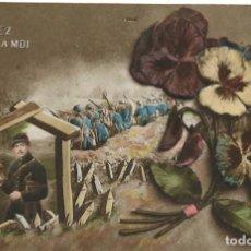 Postales: POSTAL FRANCESA. PENSEZ À MOI. ESCRITA EN 1916. Lote 242821215