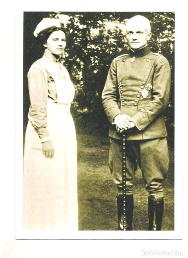 MANFRED VON RICHTHOFEN POSTAL REPRODUCCIÓN (Postales - Postales Temáticas - I Guerra Mundial)