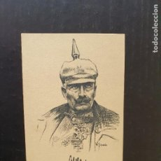 """Postales: DIBUJO DE W. GEHADDE. """"UNSER KAISER IM FELDE"""". Lote 245964170"""