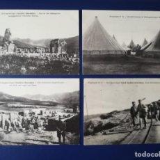 Postales: POSTALES (1 FECHADA 1918) CAMPOS FRANCESES DE PRISIONEROS MARRUECOS VOLUBILIS OUED DJEDIDA EL HANK. Lote 252565640