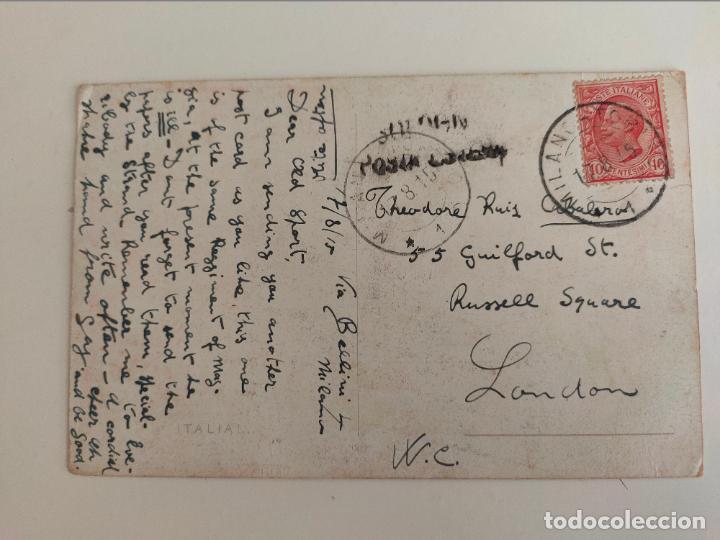 Postales: Postal italiana 1ª guerra mundial. Regglimento artigleria a caballo. 1915 - Foto 2 - 254248335