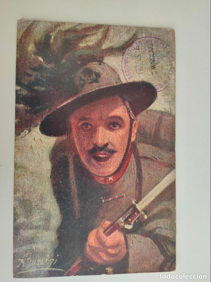 POSTAL ITALIANA 1ª GUERRA MUNDIAL. REGGLIMENTO ARTIGLERIA A CABALLO. 1915 (Postales - Postales Temáticas - I Guerra Mundial)