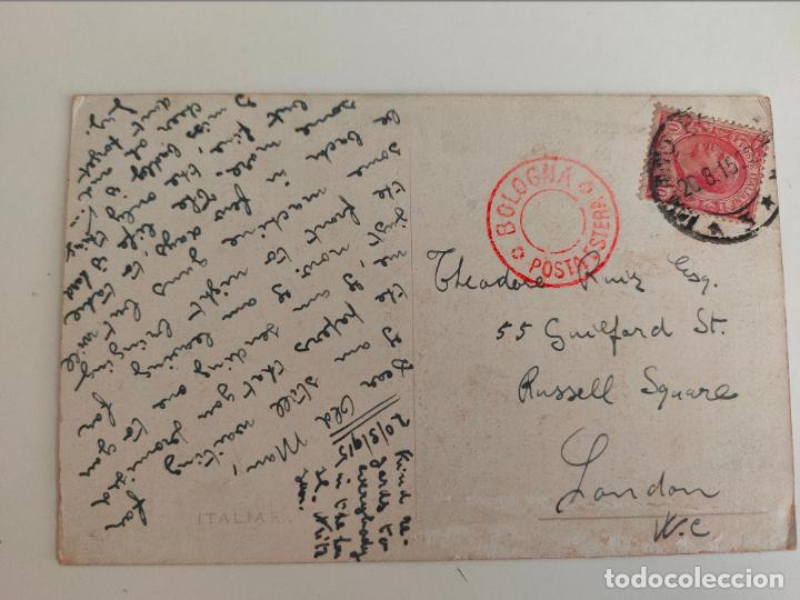 Postales: Postal italiana 1ª guerra mundial. Regglimento artigleria a caballo. 1915 - Foto 2 - 254251120
