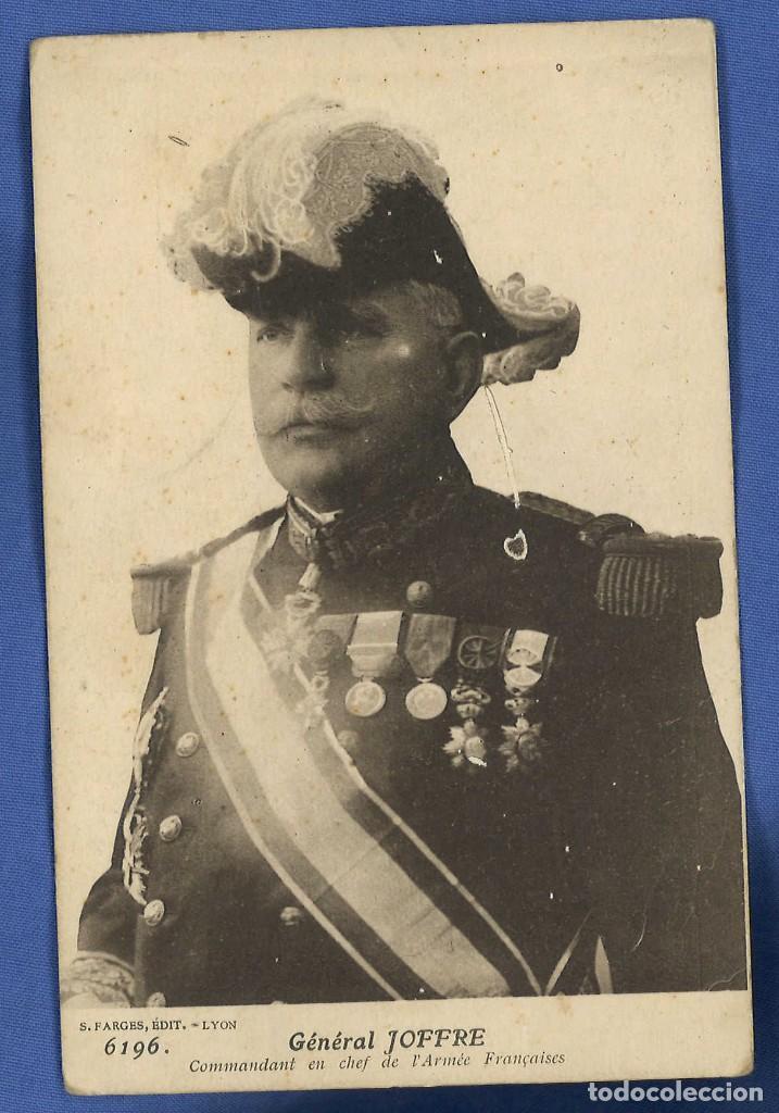 ANTIGUA POSTAL DEL GENERAL JOFFRE. 1ª GM (Postales - Postales Temáticas - I Guerra Mundial)