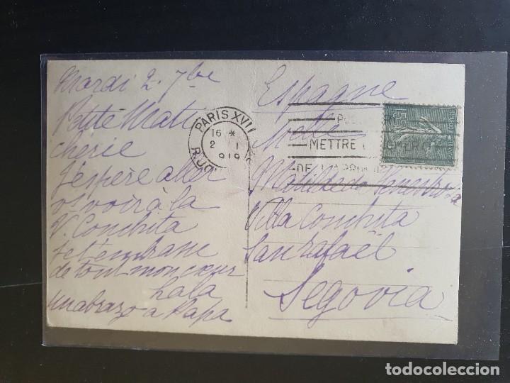 Postales: ARMAMENTO INTERVENIDO AL EJÉRCITO ALEMÁN Y EXPUESTO EN CALLE DE PARÍS - Foto 2 - 254795540