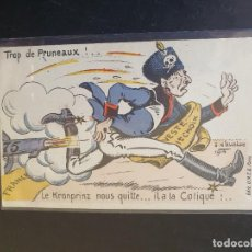 Postales: CARICATURA SOLDADO PRIMERA GUERRA MUNDIAL. Lote 254799105
