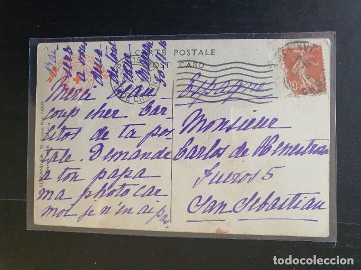 Postales: BANDERA EXPUESTA EN EL PLABELLÓN ZEPPLELIN , ESPUESTA EN EL MUSEO DEL EJÉRCICOEN LOS INVÁLIDOS - Foto 2 - 254800150